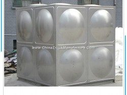 China Manufacturer Pressed Assembled Panel Stainless Steel Water Storage Tank