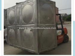 Stainless Pressed Steel Water Storage Tanks