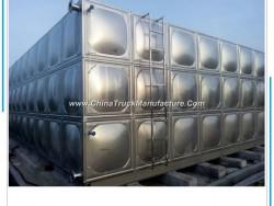 Food Grade Rectangular Stainless Steel Hot Water Storage Tank