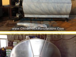 ISO9001 Approved Horizontal Stainless Steel Storage Tank for Milk (ACE-ZNLG-S7)