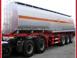 30-70m3 Fuel Tanker Semi-Trailer /Water Tank Stainless Steel Tank