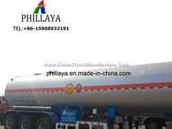 Liquid Petroleum Gas Storage Fuel Tanker Truck Semi Trailer LPG Tank for Sale