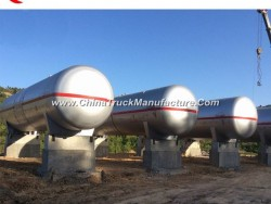 80cbm LPG Bullet Tank 80000 Liters Cooking Gas Tank 40tons LPG Cylinder Fillilng Tank for Sale