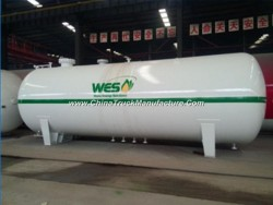 30m3 LPG Gas Bullet Tank 15tons LPG Tank with Safety Accessories