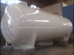 Factory Sell Horizontal 50000 Litres LPG Cooking Gas Tank 25mt for Uganda Market