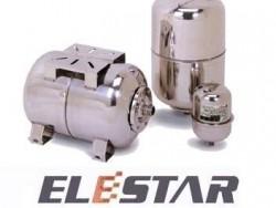 Elestar Vertical Pressure Tank for Water Pump 19-100L Stainless Steel