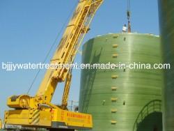 FRP GRP Fiberglass Vertical Chemical Storage Tank