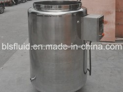 Stainless Steel Vertical Single Layer Storage Tank with Movable Wheel