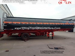 Insulating Layer Semi Trailer Tank for Petrol Chemical Liquid