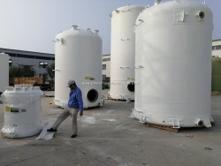 GRP Glass Fiber Reinforced Plastics Tank Conatiner Vessel for Chemical Solution or Water