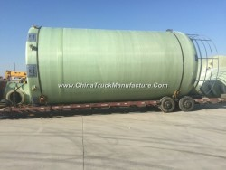 GRP Glass Fiber Reinforced Plastics Conatiner Tank Vessel for Chemical Solution or Water