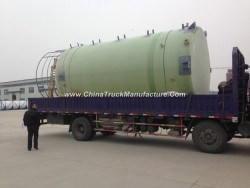 FRP Fiber Glass GRP Tank Vessel Conatiner for Chemical Solution or Water