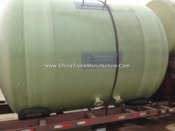 FRP Fiber Glass GRP Conatiner Tank Vessel for Chemical Solution or Water