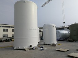 FRP Fiber Glass GRP Vessel Conatiner Tank for Chemical Solution or Water