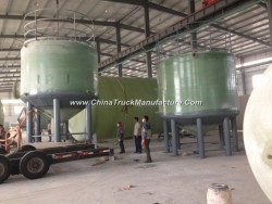 GRP Fiber Glass FRP Tank Vessel Conatiner for Chemical Solution or Water