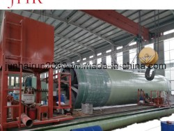 GRP Tank Production Line Computer Control FRP Tank for Water Treatment Winding Machine