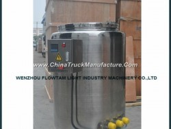 Movable Stainless Steel Storage Tank with Electrical Heating