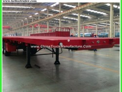 40feet Flatbed Trailer Container Semi Trailer 40ftflatbed Trailer