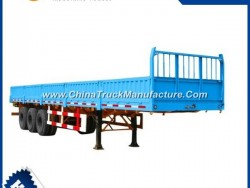 Semi Trailers 3 Axle Flatbed 13m 40 Ton for Sale
