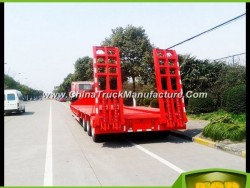 New China Brand 60 Tons Flatbed Semi Trailer