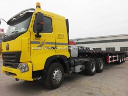 45 Tons 3 Axles Flatbed Semi-Trailer