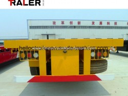 Factory Direct Hot Sale 40FT Flatbed Container Semi Trailer