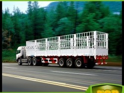 3 Axles Flatbed Side Semi-Trailer From Chinese Supplier