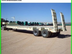 30ton Low Flatbed Semi Trailer for Sale