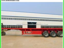 3 Axle 40 FT Flatbed Semi Trailer for Sale