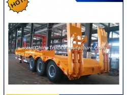 Good Container Flatbed Trailer / Flat Body Truck / 40FT Container Trailer Price