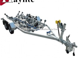Heavy Duty Hot DIP Galvanized Boat Trailer with Leaf Springs