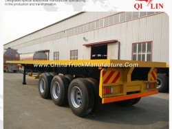 Durable and High Quality 40 Feet Flatbed Semi Trailer