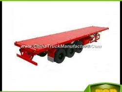 20FT/40FT Container Platform Semi Trailer