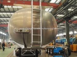 50000L Aluminum Alloy Oil Tank Semi Trailer