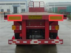 Flywheel 3 Axles 20FT 40FT Container/Utility/Cargo Flatbed/Platform Truck Semi Trailer