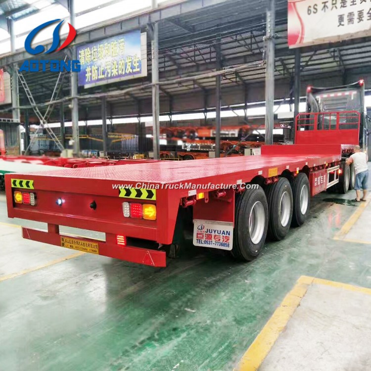 Flatbed For Sale >> 40 Feet 3axles Flatbed Trailer Flatbed Semi Trailer