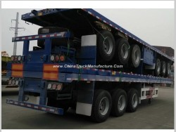 20FT 40FT 45FT Flatbed Container Cargo Semi Trailer for Sale in Qatar