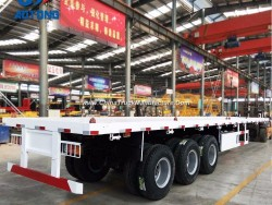 2018 New 40FT Flatbed Container Trailers/Flat Bed Semi Trailer for Sale