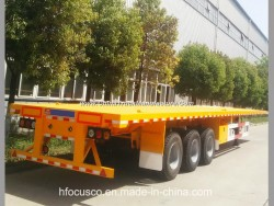Focus- 4 Axle or Tri Axle Container Trailer Semi Flatbed Trailers for Sale