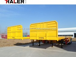3 Axle Flatbed Container Chassis Semi Trailer 40 FT Trailers
