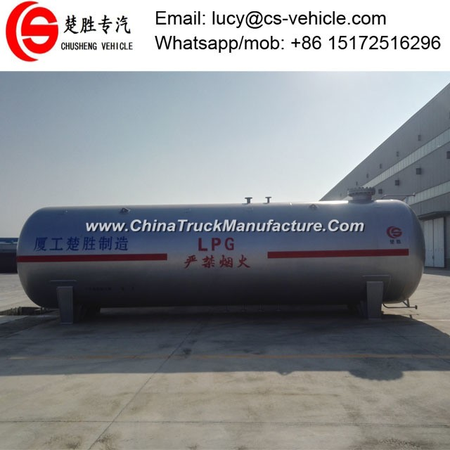 New Condition 60m3 LPG Propane Gas Tank 30 Tons LPG Storage Tank Price for Sale