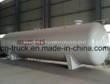 Horizontal China Manufacture 30mt 70cbm LPG Gas Bullet Tank