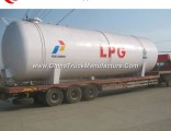80m3 40tons 80000L LPG Tank with Full Set of Safety Accessories