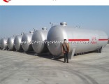 Soncap Certificate Availabe Above Groud 80m3 LPG Bullet Tank for Promotion
