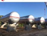 Big Capacity 80000 Liters 100000 Liters 120cbm 200m3 LPG Storage Tank with Soncap Certificate