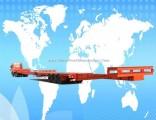 3 Axle Semi Low Bed Wind Blade Transport Truck Trailer
