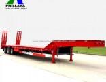 Heavy Load 100t Truck Trailer Lowboy Low Bed Trailer