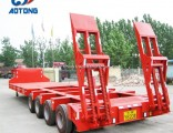 Hot Sale 150ton Heavy Load Low Bed Truck Trailer