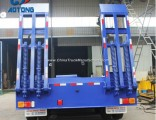 2 Lines 80 Tons 3/4 Axles Low Bed/Lowboy Truck Trailer