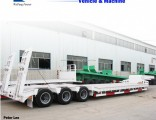 New Heavy Duty Low Bed Truck Semi Trailer
